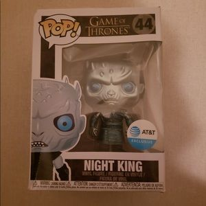 Other - Funko POP metallic Night King AT&T exclusive